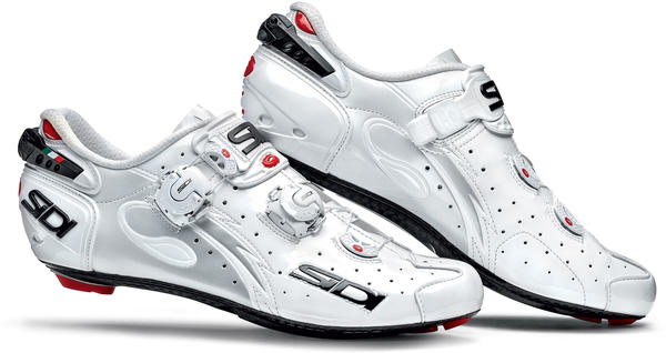 Sidi Wire Vent Carbon Shoes Color: White Vernice