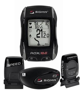 Sigma Sport Rox 10.0 GPS w/Speed, Cadence, HR Sensors