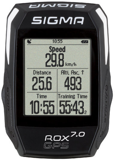 Sigma Sport ROX GPS 7.0 Color: Black