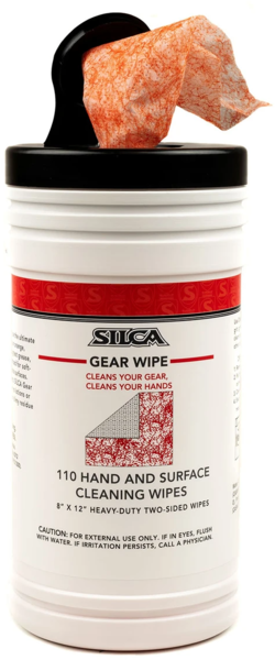 Silca Gear Wipes Canister (110 Sheets)