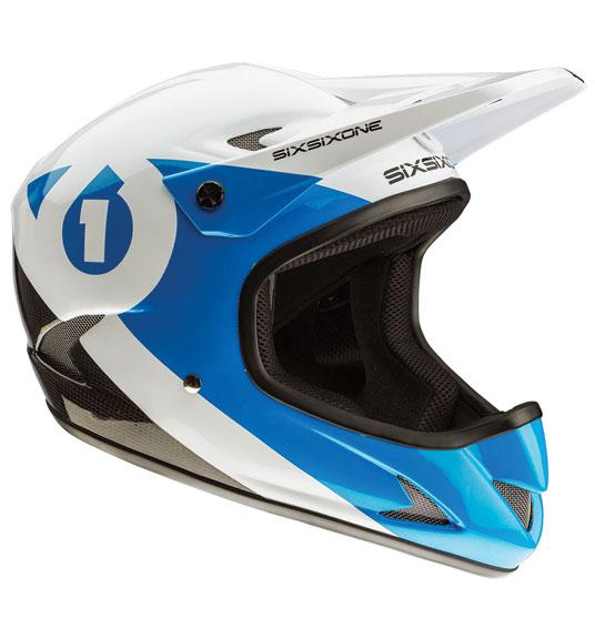 SixSixOne Rage Full Face Helmet
