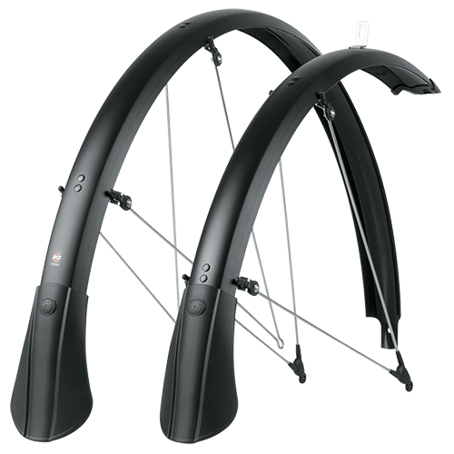 SKS Bluemels Matt 53 Fender Set Color: Black