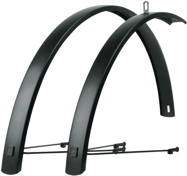 SKS Edge AL Aluminum Fender Set Color: Black