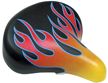 Sunlite Web Spring Saddle Color: Black/Red