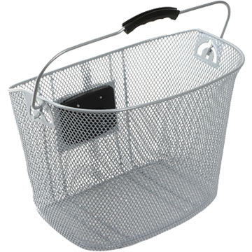 Sunlite Quick Release Basket Color: Silver