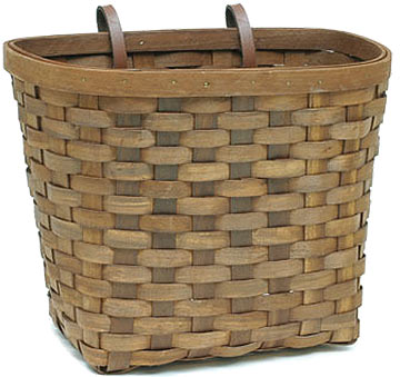 Sunlite Wooden Basket Color: Mahogany