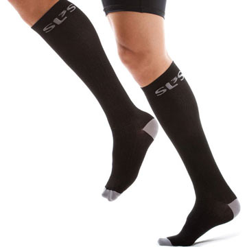 SLS3 Intelligent Race Apparel Compression Sox Color: Black
