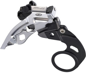 Shimano SLX E-Type Front Derailleur (Double Chainring/Top Swing)