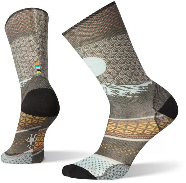 Smartwool Men's Curated Mt Fuji Crew Socks