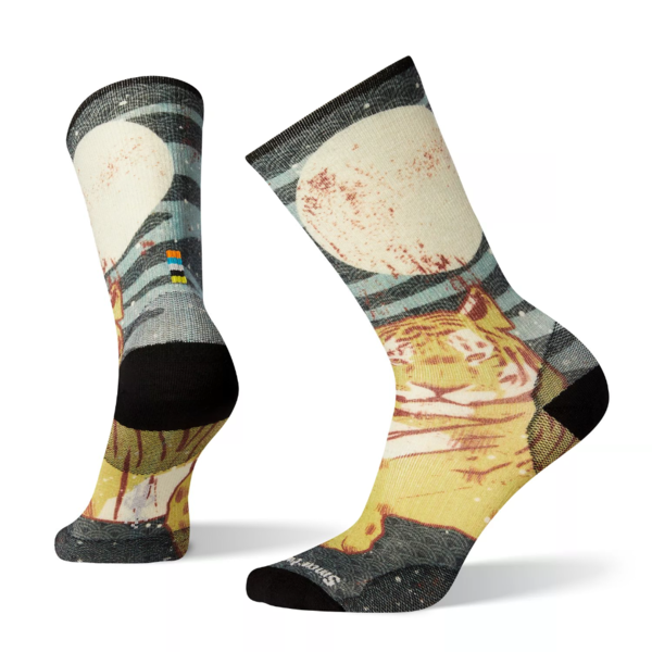 Smartwool Men's Curated Tiger Within Crew Socks