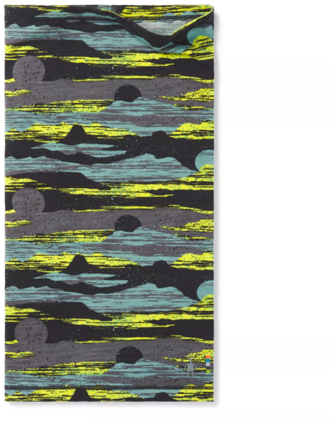 Smartwool Merino 150 Neck Gaiter Color: Deep Navy/Canyon Sunset Print