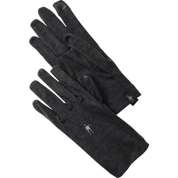 Smartwool Midweight Glove Color: Charcoal