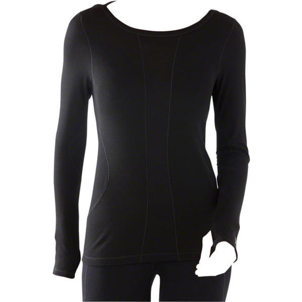 Smartwool Women's PhD Light Long Sleeve Color: Black
