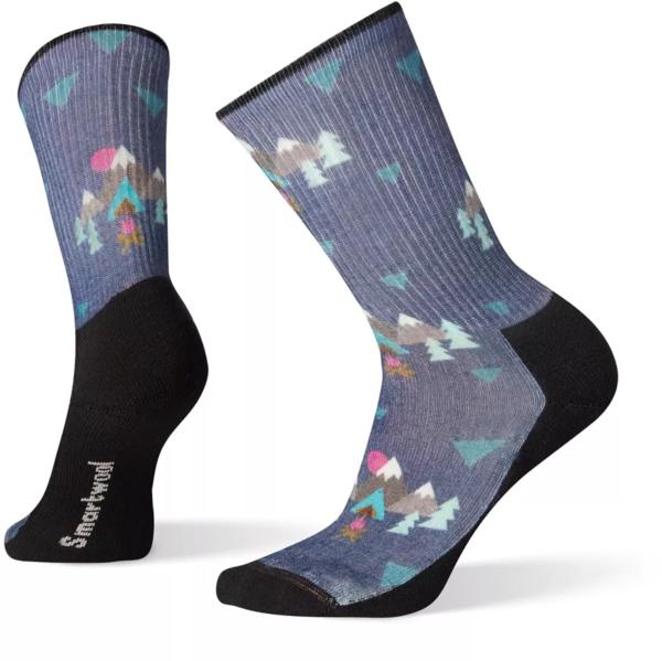 Smartwool Women's Hike Light Under The Stars Print Crew Socks