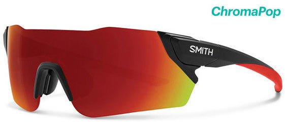 Smith Optics Attack Color | Lens: Cinelli | Chromapop Sun Red Mirror