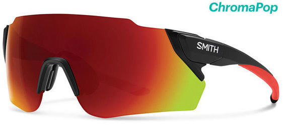 Smith Optics Attack Max Color | Lens: Cinelli | Chromapop Sun Red Mirror