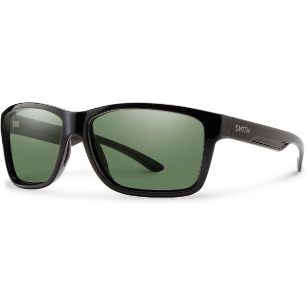 Smith Optics Drake Color | Lens: Black | Chromapop Polarized Gray Green