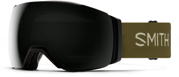 Smith Optics I/O Mag XL Color | Lens: AC/Cody Townsend | Chr Sun Black|Chr Storm Yellow Flash