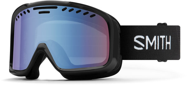 Smith Optics Project Color | Lens: Black | Blue Sensor Mirror