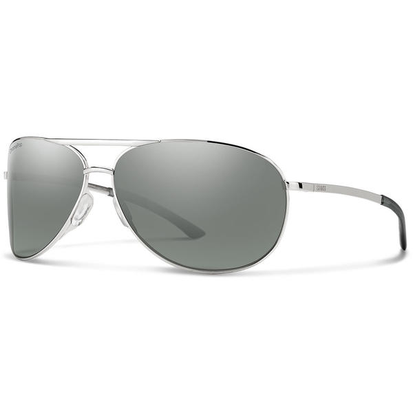 Smith Optics Serpico 2.0 Color | Lens: Silver | Chromapop Polarized Platinum