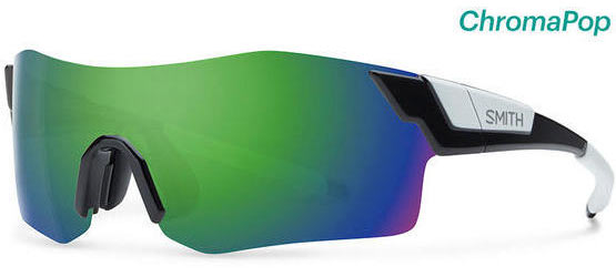 Smith Optics PivLock Arena Color | Lens: Black | Chromapop Sun Green Mirror