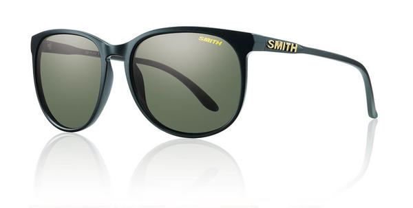 Smith Optics Mt. Shasta Color | Lens: Matte Black | Polarized Gray Green