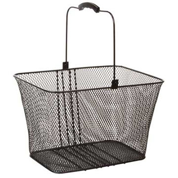 Sunlite Lift-Off Basket Color: Black