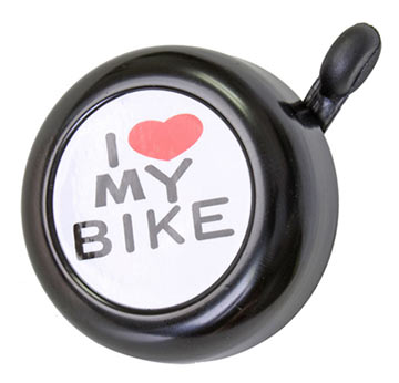Sunlite I Love My Bike Bell Color: Black