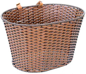 Sunlite Deluxe Rattan Basket Color: Brown