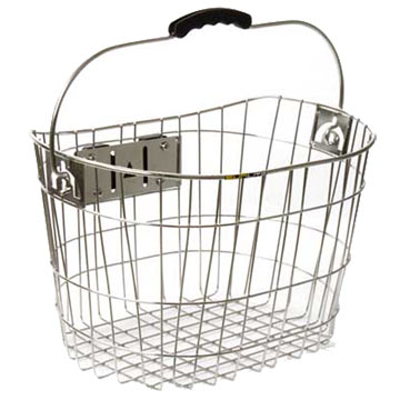 Sunlite Stainless Quick Release Basket