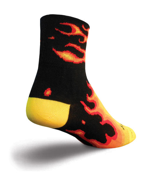 SockGuy Fireball Socks Color: Fireball