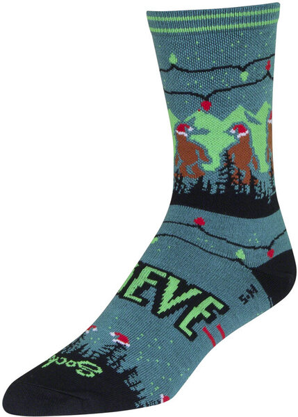 SockGuy Holiday Sock Color: SantaSquatch