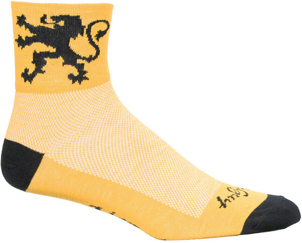 SockGuy Lion Of Flanders Socks Color: Lion Of Flanders
