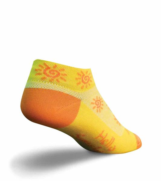 SockGuy Sunshine Socks Color: Sunshine