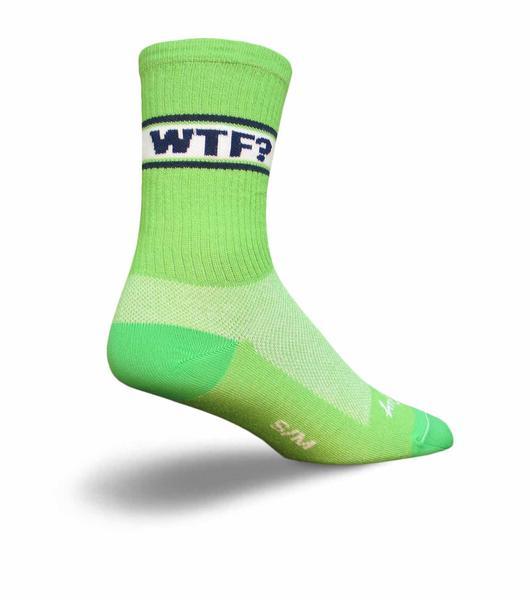 SockGuy WTF? Crew Socks
