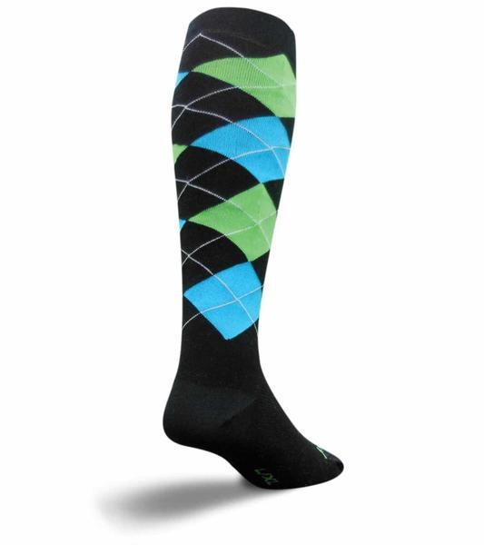 SockGuy Knee Hi Socks (Argyle)