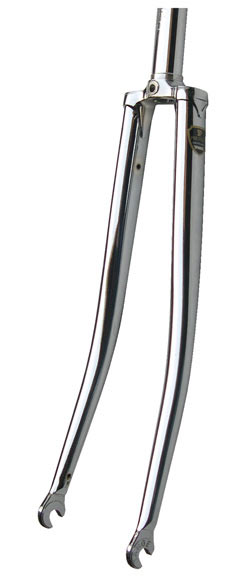 Soma Chrome Lugged Track Fork - Threaded Color: Chrome