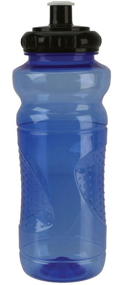 Soma Polypropylene Water Bottle Color: Blue With Black Cap