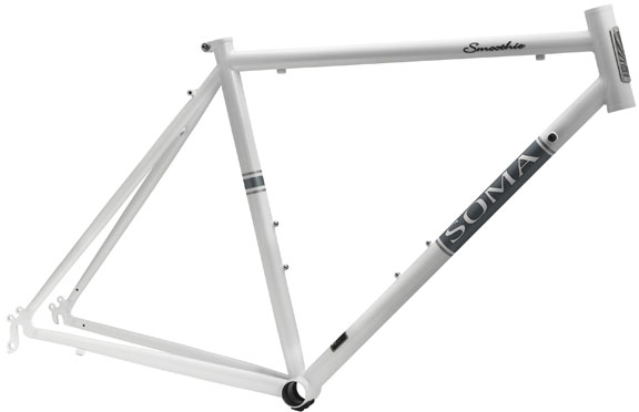 Soma Smoothie Road Frame Color: Pearl White