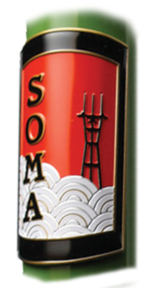 Soma Head Badge