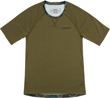 Sombrio Alder Jersey Color: Trade Camo