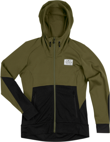 Sombrio Blocker Hoodie Color: Dark Charcoal