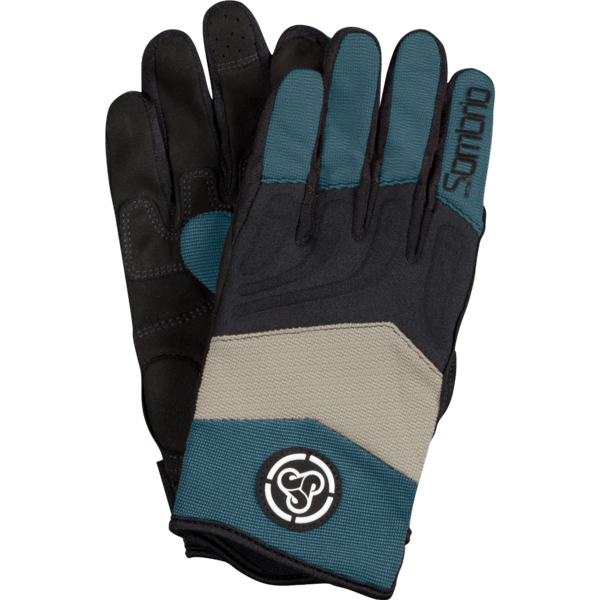 Sombrio Cartel Gloves Color: Pacific Teal