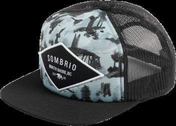 Sombrio Cypress Flatbrim Hat
