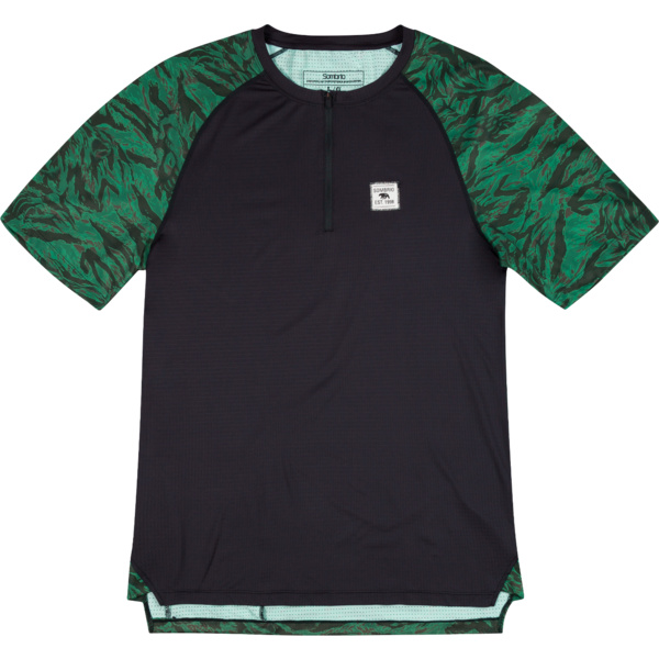 Sombrio Ridgeline Jersey Color: Green Grizzly Camo