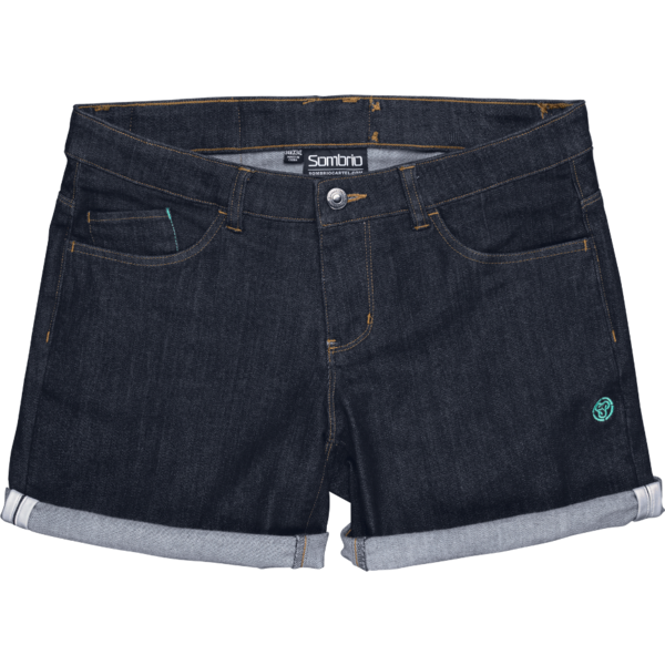 Sombrio Robson Jean Shorts Color: Indigo Denim