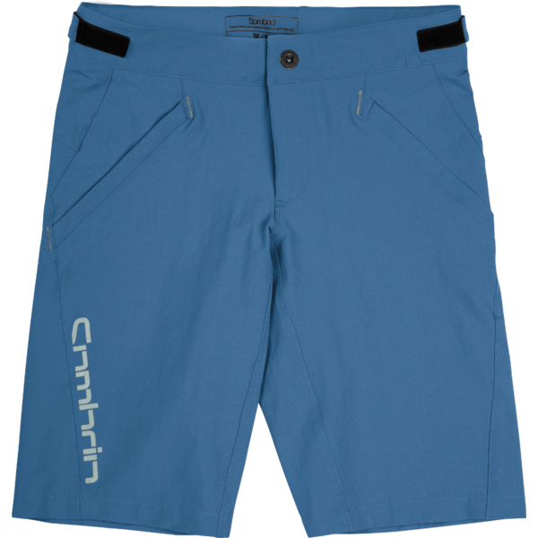 Sombrio V'al Shorts Color: Pacific Teal