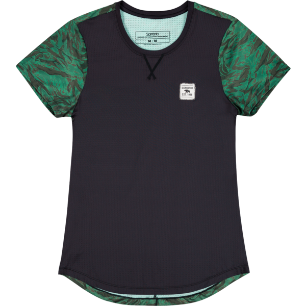 Sombrio Valley Jersey Color: Green Grizzly Camo