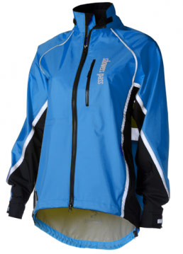 Showers Pass Women's Transit Jacket Color: Ocean Blue