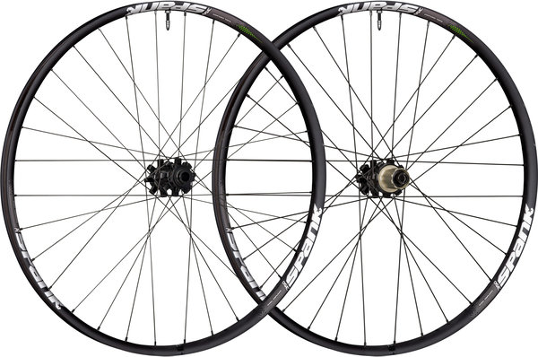 Spank 350 Vibrocore 27.5-inch Wheelset Color: Black